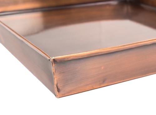 Drip Tray Gar592 Ant H Potter Planter Tall Antique Copper