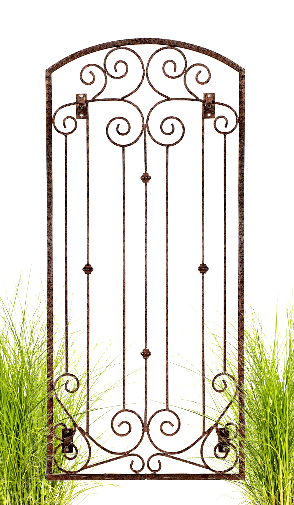 Heavy duty metal wall trellis