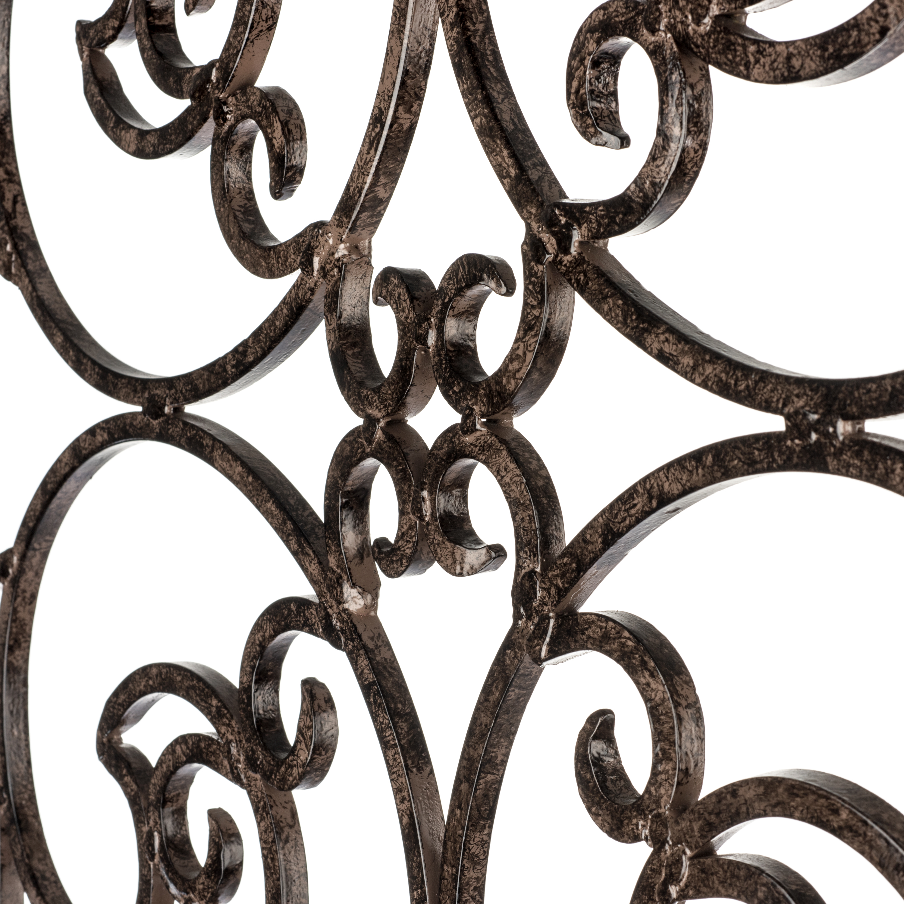wrought iron scroll trellis for flowers
