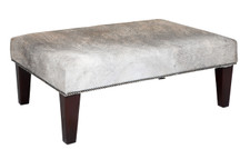 3ft x 2ft Cowhide Footstool FST929