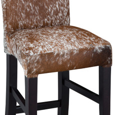 Brown and White Speckled Cowhide Mini Savoy