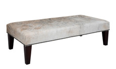 4ft x 2ft Cowhide Footstool FST935