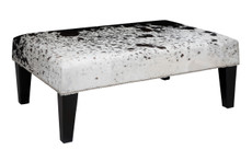 3ft x 2ft Cowhide Footstool FST925