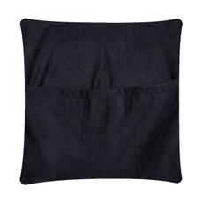 Brown & White Cowhide Cushion