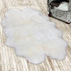 White Quad Sheepskin Rug