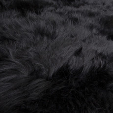 Black sexto sheep skin
