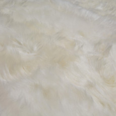 White/Ivory Double Sheepskin Rug