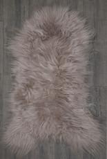 Icelandic Light Taupe Single Sheepskin Rug