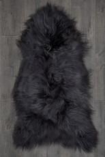 Icelandic Slate Grey Single Sheepskin Rug