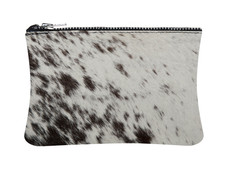 Black & White Cowhide purse