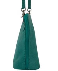 Suede Sholder Bag in Aqua PB002