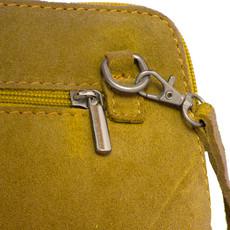 Suede Sholder Bag in Lemon PB008