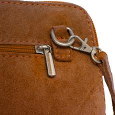 Suede Sholder Bag in Mustard PB010