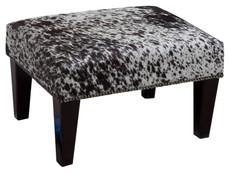 2ft x 1.5ft Cowhide Footstool / Ottoman FST761