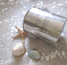 Silver Metallic Cowhide Rug SMET022-21 (240cm x 210cm)