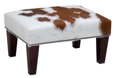 2ft x 1.5ft Cowhide Footstool / Ottoman FST003-21