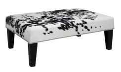 3ft x 2ft Cowhide Footstool FST934