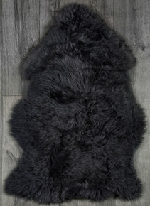 Slate Grey Single Sheepskin Rug