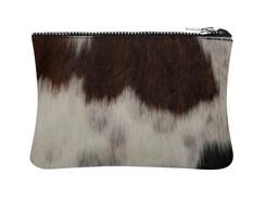 Tri Colour Cowhide purse