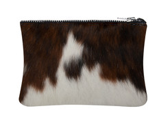 Tri Colour Cowhide purse