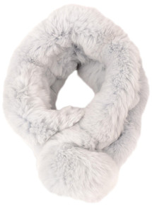 Grey Bellringer Fur Scarf