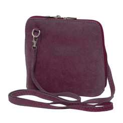 Suede Sholder Bag in Lilac
