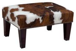 2ft x 1.5ft Cowhide Footstool / Ottoman FST004-21