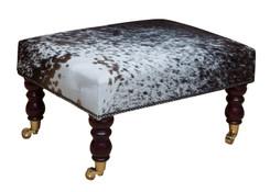 2ft x 1.5ft Cowhide Footstool / Ottoman FST033-21