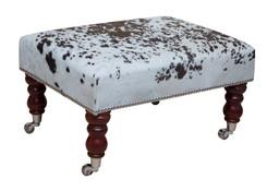 2ft x 1.5ft Cowhide Footstool / Ottoman FST037-21