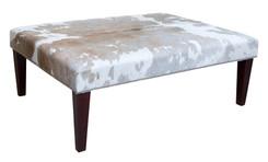 4ft x 3ft Cowhide Footstool / Ottoman FST048-21