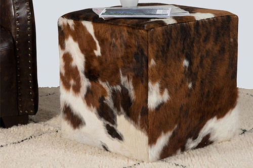 Have Fun Decorating With Cowhide Cushions and Cubes