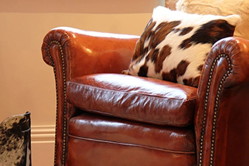 Cowhide Cushions Offer Endless Decorating Ideas
