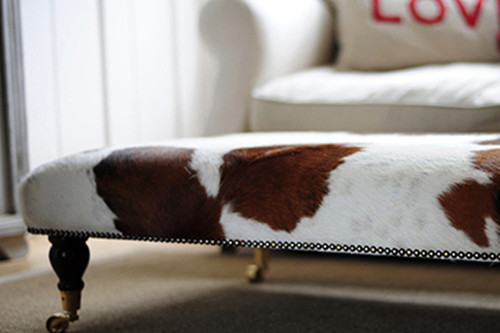 How to Make the Most of Your Genuine Cowhide Footstool
