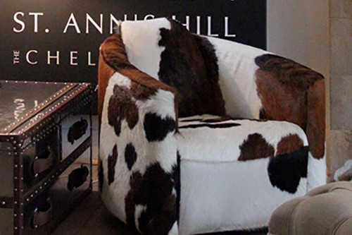 Endless Decorating Options Offered by Cowhide Furniture