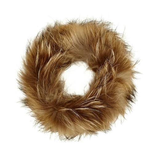 Mocha Fox Fur Headband