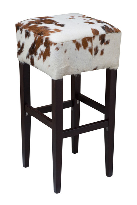 Brown and White Bentley Bar Stool