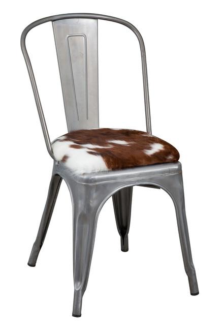 Tolix Cowhide Chair TOL21