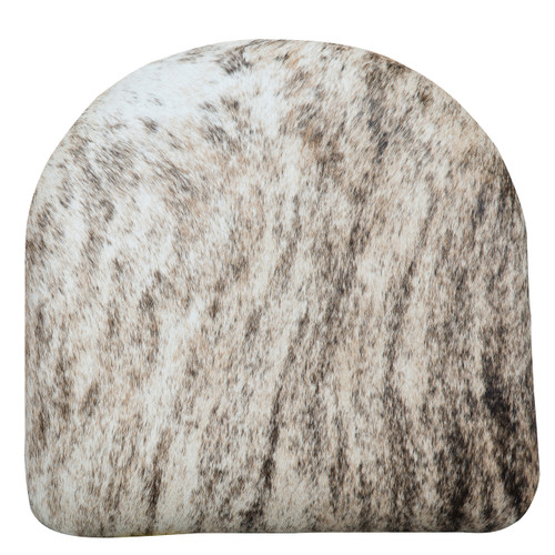 Pale Brindle Cowhide Cushion