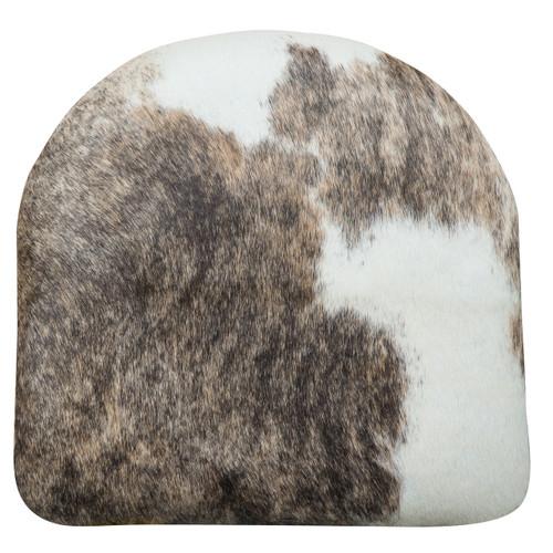 Pale Brindle Cowhide Cushion