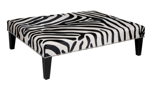 4ft x 3ft Cowhide Footstool FST963