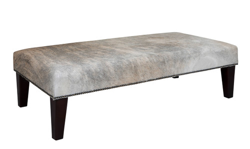 4ft x 2ft Cowhide Footstool FST936