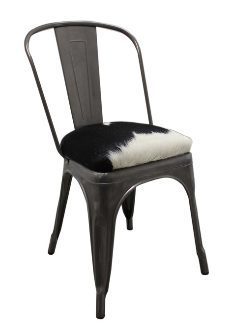 Tolix Cowhide Chair