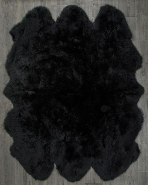 Black Sexto Sheepskin Rug