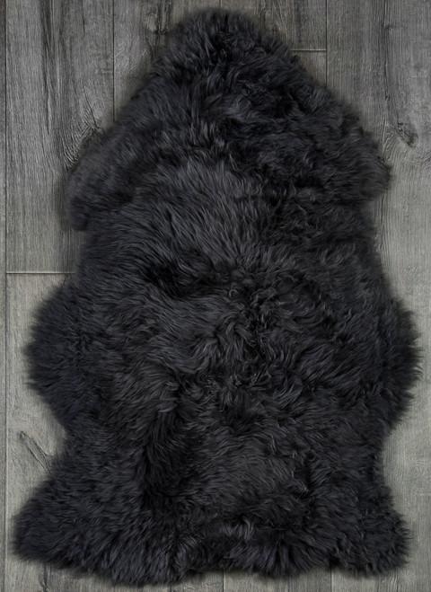 Slate Grey Single Sheepskin Rug