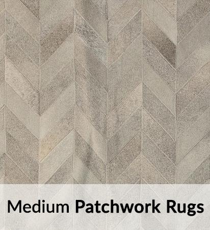 Medium Cowhide Patchwork Rugs