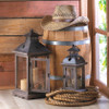 Shown with our item 10015420: Wood Frame Candle Lantern - 18.5 inches