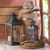 Shown with our item 10015421: Wood Frame Candle Lantern - 12 inches