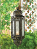 Victorian Hanging Candle Lantern - 13 inches