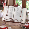 Iron Rooster Cookbook or Tablet Stand