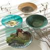 Golden Eye Decorative Glass Bowl